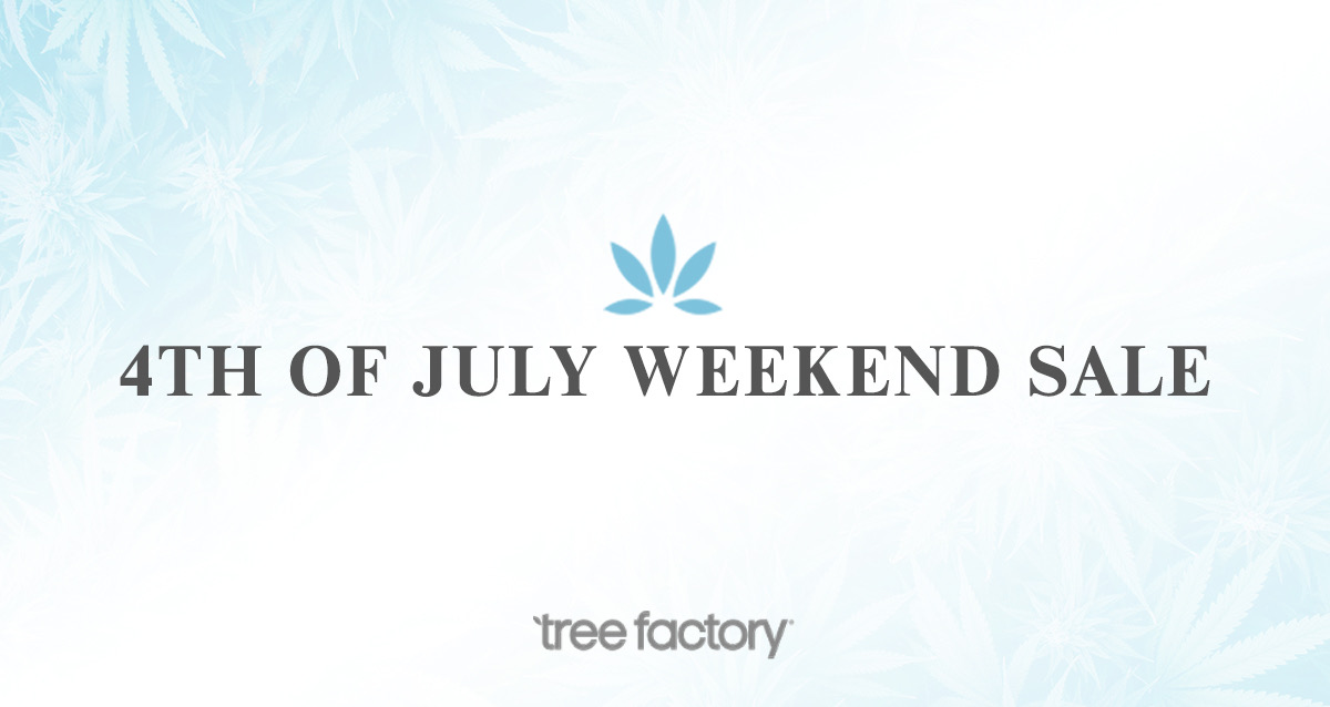 Tree Factory 4th Of July Weekend Sale: 20% off Everything In-Store