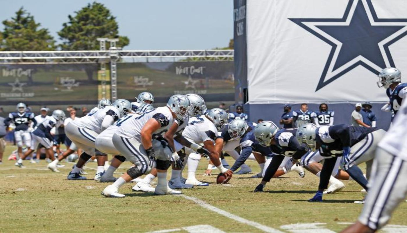 The Dallas Cowboys Finish Up Their 2021 Training Camp In Oxnard, CA